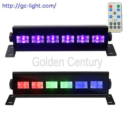 LE36P/LE36RGB 6*3W RGB/UV Wash Light