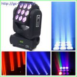 9*10W LED moving head matrix light
