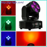 4*10W 6 in 1 Moving Head Light remote control