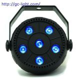 PL016  6*1.5W LED Par Light 3 in 1(RGB)
