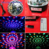 LB02BT 6*1W MP3/ Bluetooth LED Magic Ball